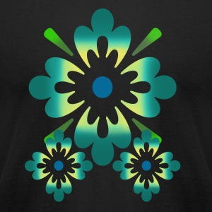 flower - Men's T-Shirt by American Apparel