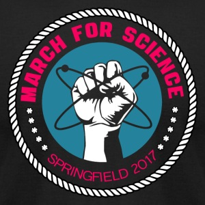 Science March Springfield 2017 - Men's T-Shirt by American Apparel