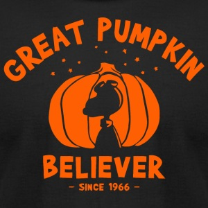 Great Pumpkin Believer - Men's T-Shirt by American Apparel