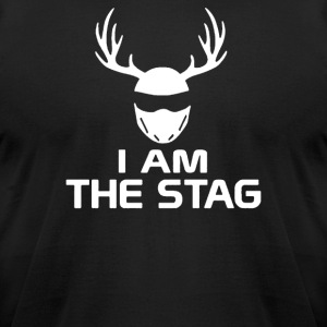 I Am The Stag Stag Night Hen Wedding - Men's T-Shirt by American Apparel
