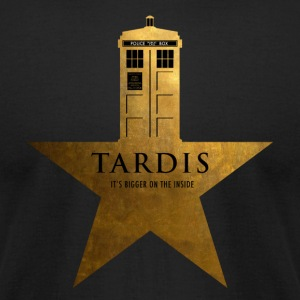 TARDIS - It's Bigger on the Inside - Men's T-Shirt by American Apparel