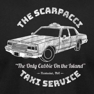 The Scarpacci Taxi Service - Men's T-Shirt by American Apparel