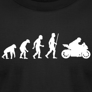 Motorbike - Evolution of Motorbikes - Men's T-Shirt by American Apparel