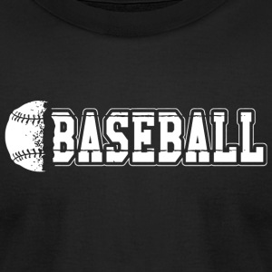 Baseball - Baseball - Men's T-Shirt by American Apparel