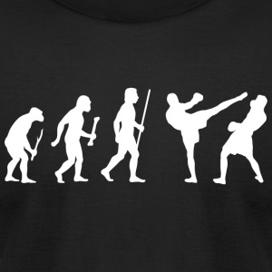 Kickboxing - Kickboxing evolution - Men's T-Shirt by American Apparel