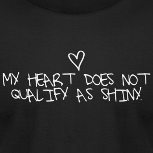 Dragon age - My heart does not qualify as shiny. - Men's T-Shirt by American Apparel