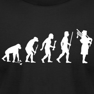 Bagpipes - Bagpipes Evolution - Men's T-Shirt by American Apparel