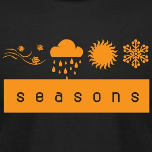 Season - seasons - Men's T-Shirt by American Apparel