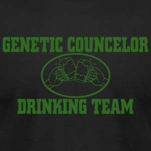 DRINKING - GENETIC COUNCELOR DRINKING TEAM - Men's T-Shirt by American Apparel