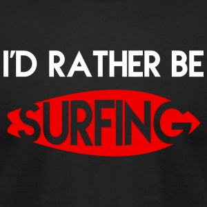 Surfing - Surfing - Men's T-Shirt by American Apparel
