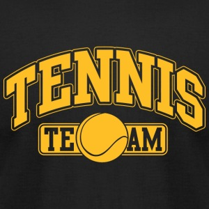 Tennis - Tennis Team - Men's T-Shirt by American Apparel