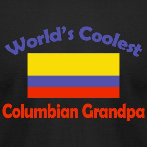 Columbian - world's coolest columbian grandpa - Men's T-Shirt by American Apparel