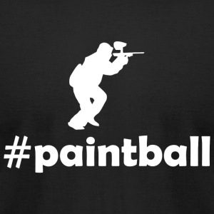 Paintball - paintball - Men's T-Shirt by American Apparel