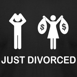 Divorced - Just Divorced - Men's T-Shirt by American Apparel
