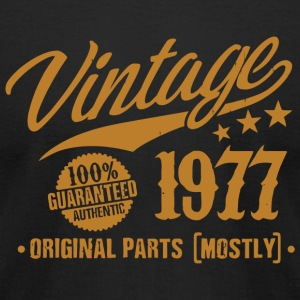 1977 - 41st Birthday Gift Vintage 41 Years Old - Men's T-Shirt by American Apparel