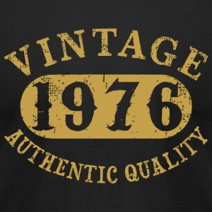 1976 - 41 years old 41st B-day Vintage Birthday - Men's T-Shirt by American Apparel