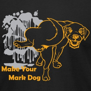 Mark dog - Make Your Mark Dog - Men's T-Shirt by American Apparel