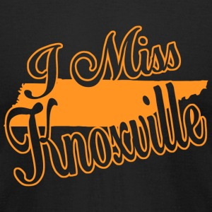 Knoxville - i miss knoxville - Men's T-Shirt by American Apparel