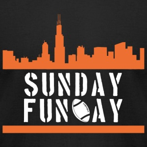 Ruby - sunday funday - Men's T-Shirt by American Apparel