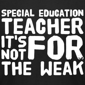 Special education teacher - Special education te - Men's T-Shirt by American Apparel