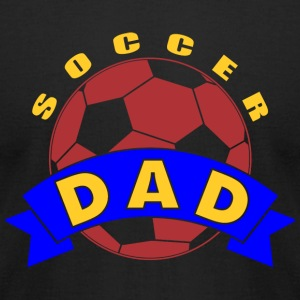 SOCCER DAD SOCCER DAD - Men's T-Shirt by American Apparel