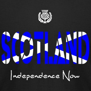 Scotland Scotland Independence Now - Men's T-Shirt by American Apparel