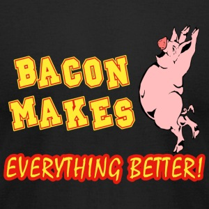 Bacon - Bacon Makes Everything Better - Men's T-Shirt by American Apparel