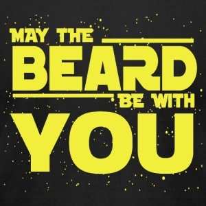 Beard - Beard - May The Beard Be With You - Men's T-Shirt by American Apparel