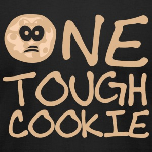 Cookie - One Tough Cookie - Men's T-Shirt by American Apparel