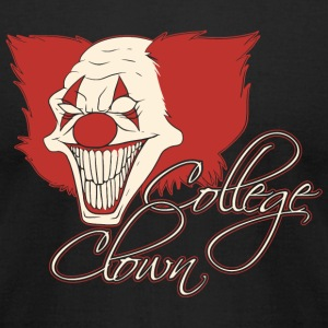 Clown - College Clown - Men's T-Shirt by American Apparel