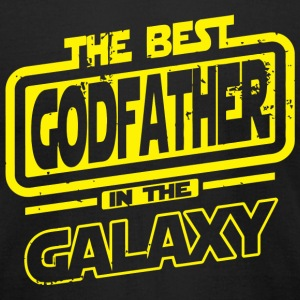 Godfather - The Best Godfather In The Galaxy - Men's T-Shirt by American Apparel