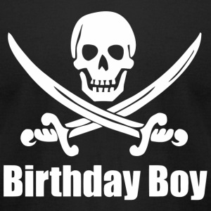 Birthday Boy - Pirate Birthday Boy - Pirate Birt - Men's T-Shirt by American Apparel