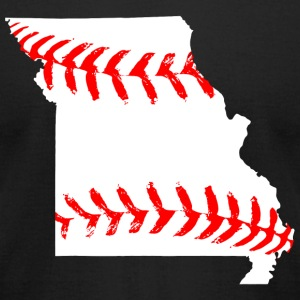 Baseball - missouri baseball - Men's T-Shirt by American Apparel