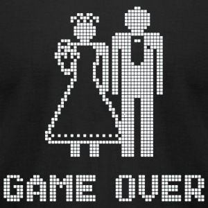Married - game over - Men's T-Shirt by American Apparel