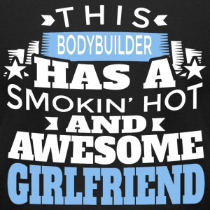 Bodybuilder - this bodybuilder has a smoking hot - Men's T-Shirt by American Apparel