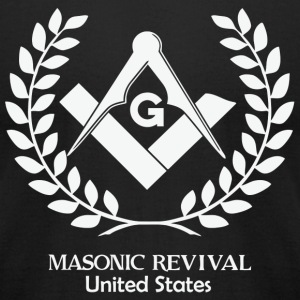 Masonic - Mens Insignia Graphic Tee by Masonic R - Men's T-Shirt by American Apparel