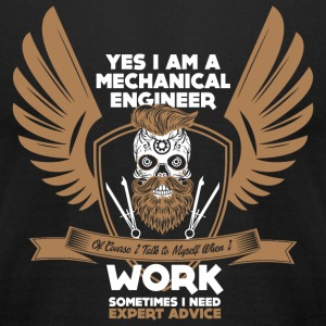 Mechanical Engineer - Yes Iam A Mechanical Engin - Men's T-Shirt by American Apparel