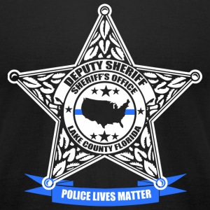 Police - Police lives matter - Men's T-Shirt by American Apparel