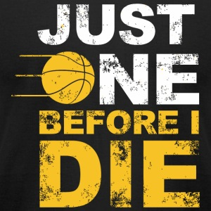 Volleyball - just one before i die - Men's T-Shirt by American Apparel