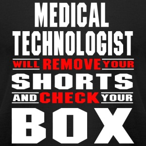 Medical technologist - medical technologist will - Men's T-Shirt by American Apparel