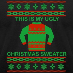 Christmas This Is My Ugly Christmas Sweater Sh - Men's T-Shirt by American Apparel