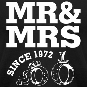 1972 Wedding - 45th Wedding Anniversary Gift - M - Men's T-Shirt by American Apparel