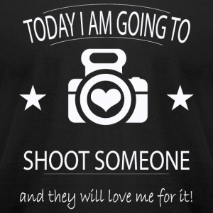 Photographer - Photographer - Today I'm going to - Men's T-Shirt by American Apparel