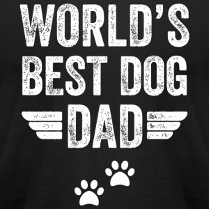 Dog World's best dog dog - T-shirt pour hommes American Apparel