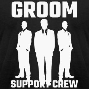 Attendant - Groom Support Crew - Men's T-Shirt by American Apparel