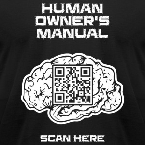 Human - Human Owner's Manual - Men's T-Shirt by American Apparel