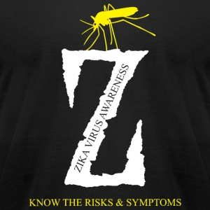 Zika Virus - Zika Virus Awareness - Men's T-Shirt by American Apparel