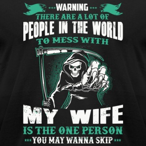 Wife - People In The World To Mess With Redhead - Men's T-Shirt by American Apparel