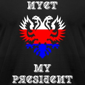 President - Nyet My President - Men's T-Shirt by American Apparel