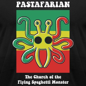 Pastafarian - Pastafarian -- The Church of the F - Men's T-Shirt by American Apparel